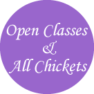 Open Classes &am:; All Chickets